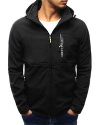 Dstreet Sportovní softshell bunda černá - 3XL