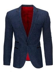 Tmavě modré pánské atraktivní sako