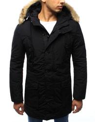 Dstreet Módní černá pánská bunda