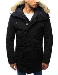Dstreet Černá moderní zimní bunda