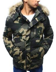 Dstreet Jedinečná maskáčová zimní bunda