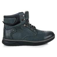 MAZARO Modré pánské boty na platformě
