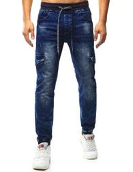Dstreet Pánské jogger kalhoty s bočními kapsami