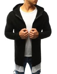 Dstreet Trendy černý svetr s podšitím - S