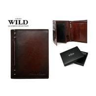 Elegantní hnědá kožená peněženka