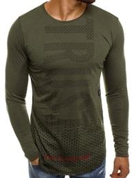 TRUST atraktivní pánské zelené tričko BREEZY 171401