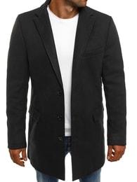 Černý pánský kabát J.BOYZ 1047