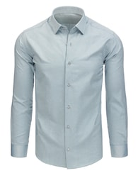 Dstreet Jedinečná šedá košile - XL