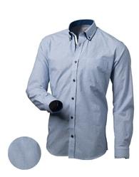 Victorio Bleděmodrá elegantní košile V028