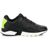 AX BOXING Černé módní sportovní tenisky - 41