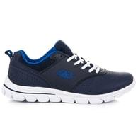 AX BOXING Pánské modré běžecké tenisky - 46