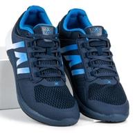 CNB Sportovní módní pánské tenisky nebesky modré - 46
