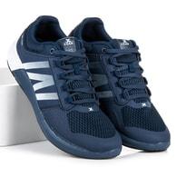 CNB Stylové tenisky pánské tmavě modré - 46
