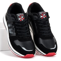 AX BOXING Černé módní sportovní tenisky - 43