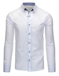 Moderní elegantní bílá pánská košile