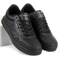 AX BOXING Módní černé pánské tenisky - 43