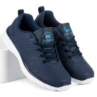 AX BOXING Tmavě modré pánské sportovní tenisky AX BOXING - 43