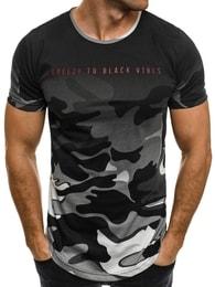 Šedé originální pánské tričko BREEZY 540BT - M