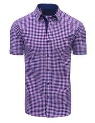 Dstreet Růžovo-fialová atraktivní košile