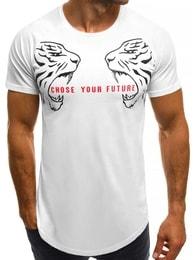 """""""Choose your future"""" pánské bílé tričko B/181599"""