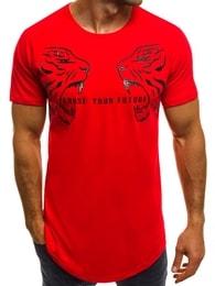 """Choose your future"" pánské červené tričko B/181599 - XXL"