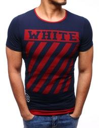 WHITE tmavě modré pánské tričko - XL