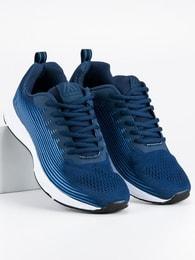 AX BOXING Pánské volnočasové tenisky tmavě modré - 43