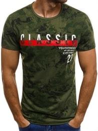 """""""Classic"""" pánské zelené tričko JS/SS523"""