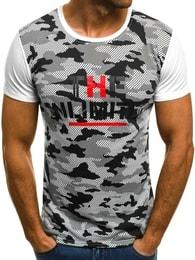 UNLIMITED pánské bílé tričko JS/5022 - XL