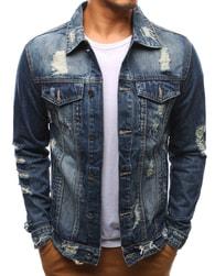 Dstreet Pánská nebesky modrá džínová bunda - S