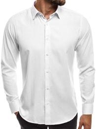 Jednoduchá bílá košile MECH/2122 - M