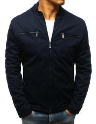 Dstreet Tmavě modrá pánská módní bunda - XL