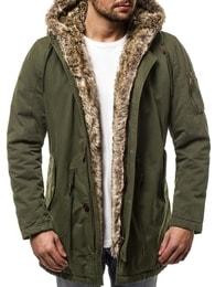 Zelená zimní bunda OZONEE JB/1065 - XXL