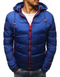 Dstreet Moderní prošívaná bunda modrá