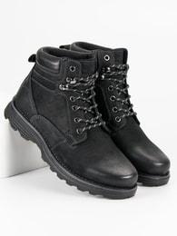 AMERICAN CLUB Fantastické černé boty American a9d0b85fd8