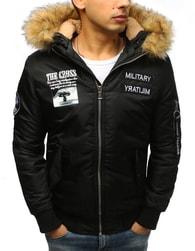 Dstreet Bomber zimní bunda černá