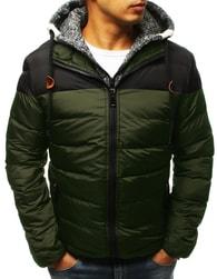 Dstreet Trendy zimní bunda zelená - XXL