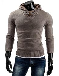 Stylový pánský svetr béžový