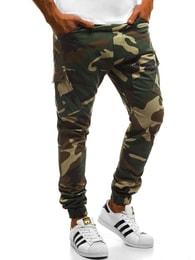 f10bd15fd2d Maskáčové trendy jogger kalhoty OZONEE A 0853