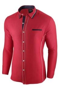 44b0b906c3c Seraphstore.com Červená pánská slim fit košile