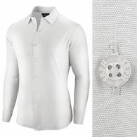 Seraphstore.com Bílá business pánská košile Essential Life - XXL