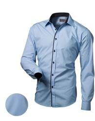 Victorio Modrá moderní košile V129